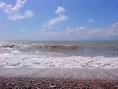 Пляж курортного Агоя