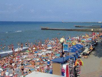 Пляж «Маяк» в Сочи