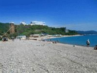 Пляж в Небуге