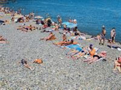 Пляж «Приморский» в Сочи