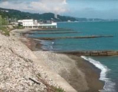 Пляж «Спутник» в Сочи