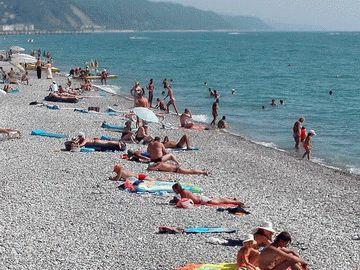 Пляжи Мацесты