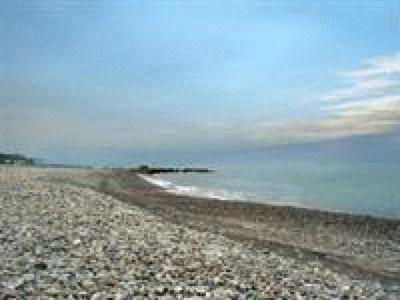 Пляжи курортного посела Якорная щель