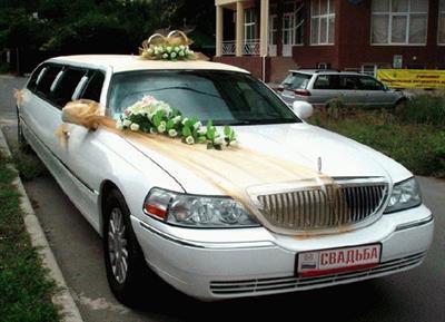 Прокат лимузинов на свадьбу в Анапе