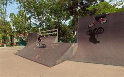 Скейт парк в Анапе