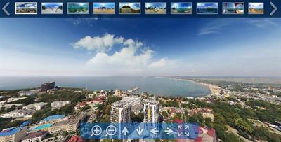 Создание панорам 360 градусов, видео 360°, виртуальных туров в Анапе