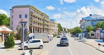 ул. Черноморская в Витязево