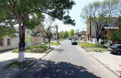 Улица Новороссийская в Анапе