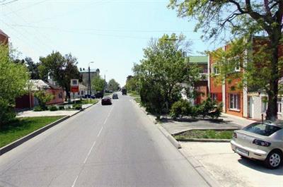Улица Шевченко в Анапе