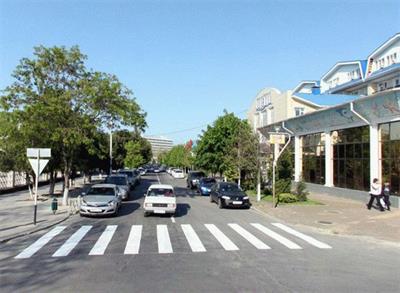 Улица Калинина в городе Анапа