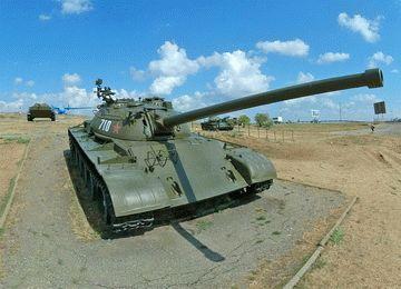 Военная горка  в Темрюке