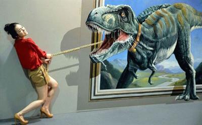 Уникальная выставка 3D картин «Парк иллюзий»