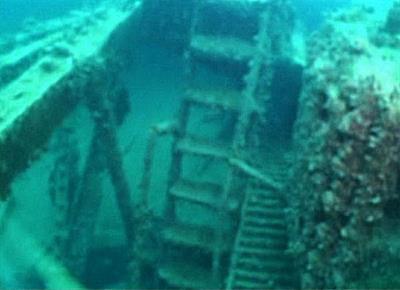 Затонувший корабль «Гордипия» - Анапа