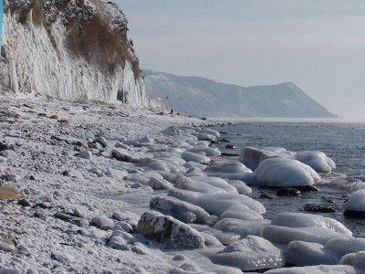 Фото Анапы зимой