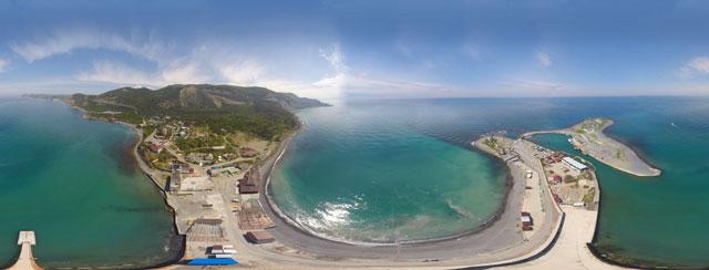 Виртуальный обзор курорта Анапа