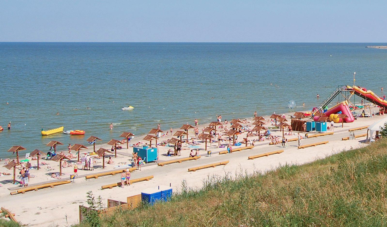 Пляж в Ейске