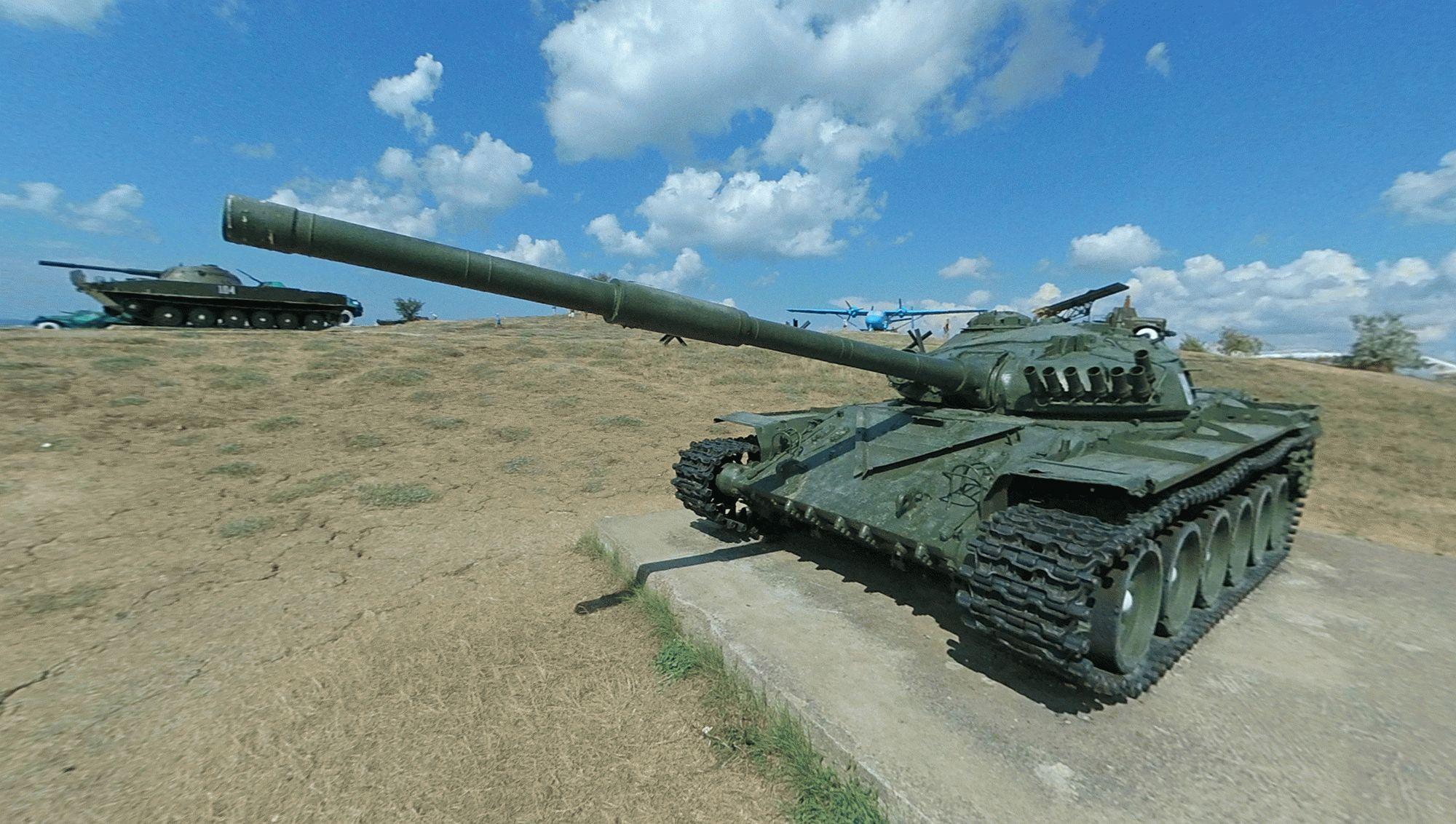 Боевые экспонаты