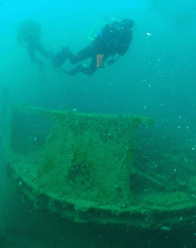 Погружение на затонувшие корабли в Анапе