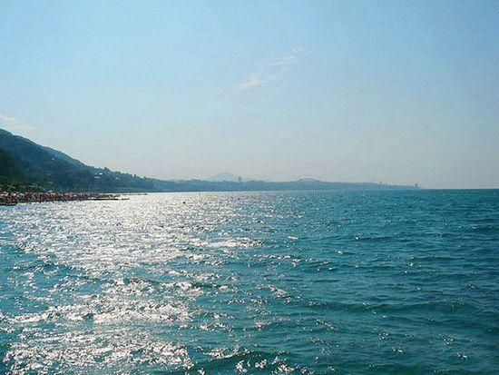 море в адлере фото