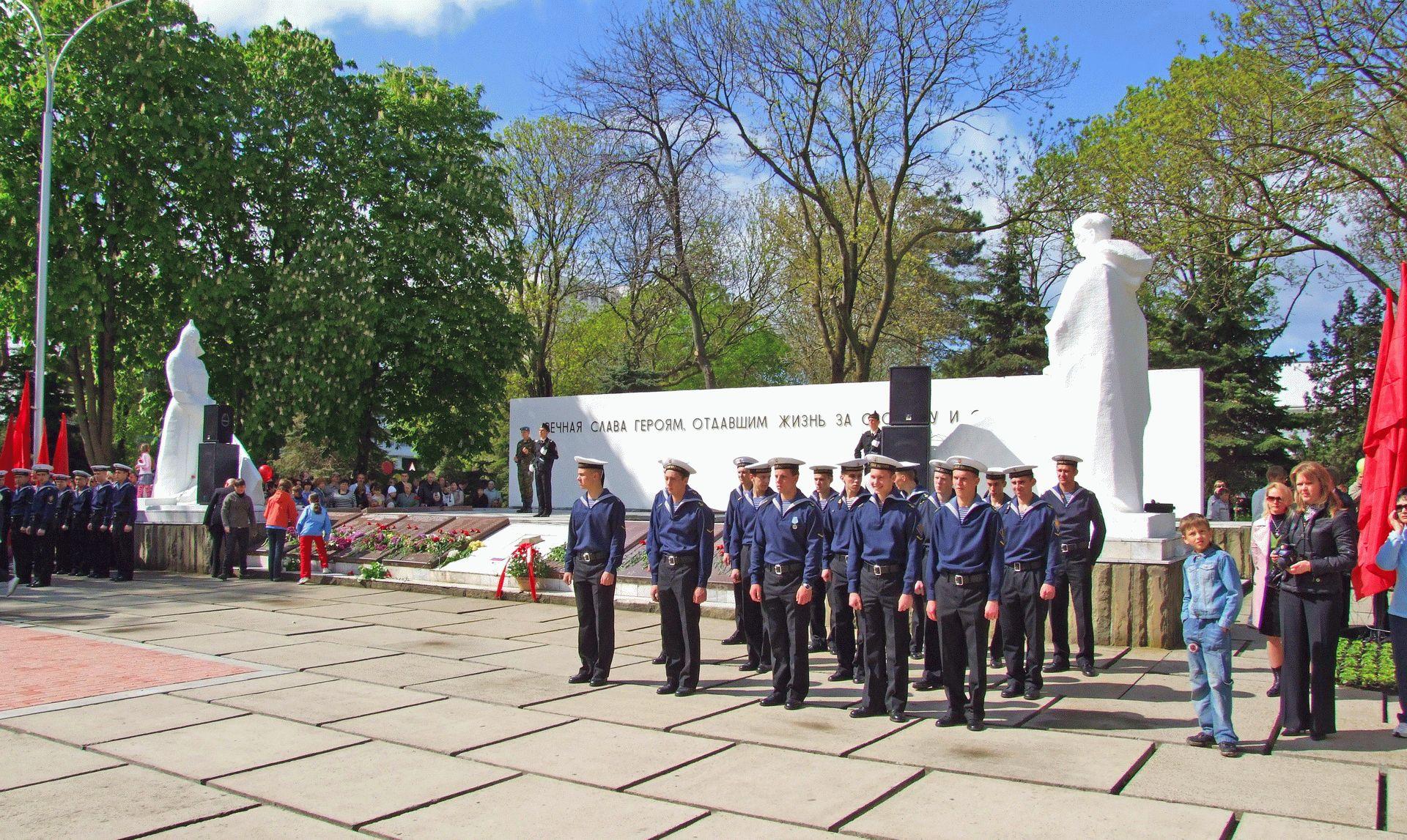 праздник День Победы в Анапе