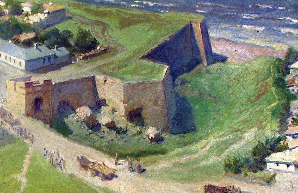 Стены турецкой крепости