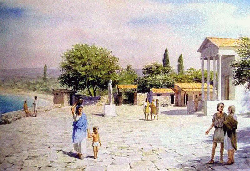 Греческое поселение на месте Анапы