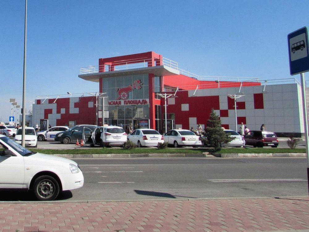 Торгово развлекательный центр Красная Площадь в Анапе