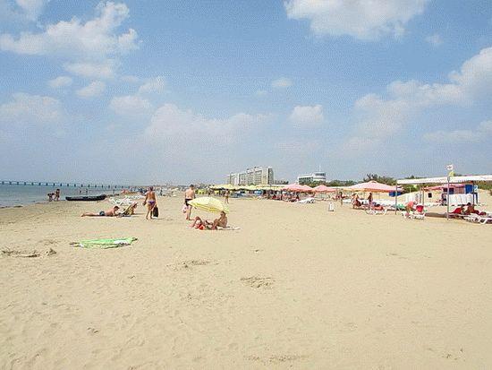 Просторные пляжи в Анапе