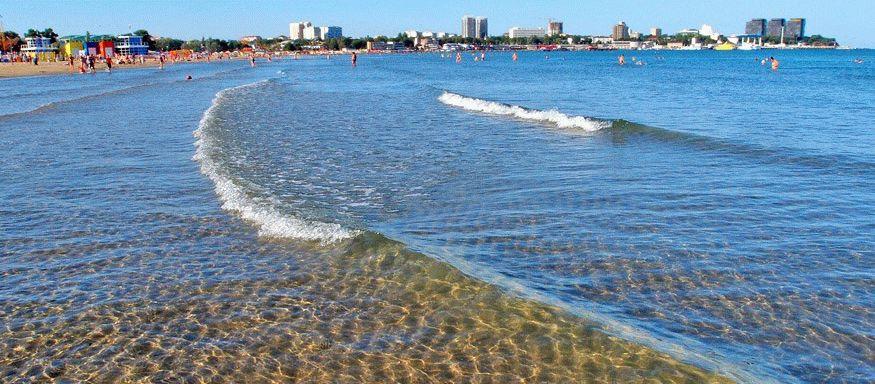 Песчаные пляжи курорта Анапа