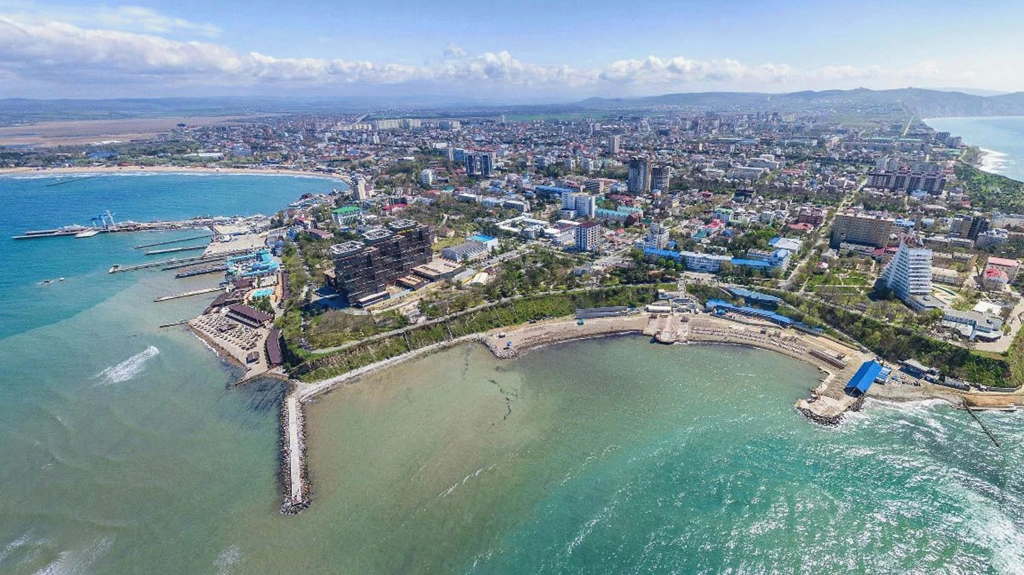 Курорт Анапа на Черном море