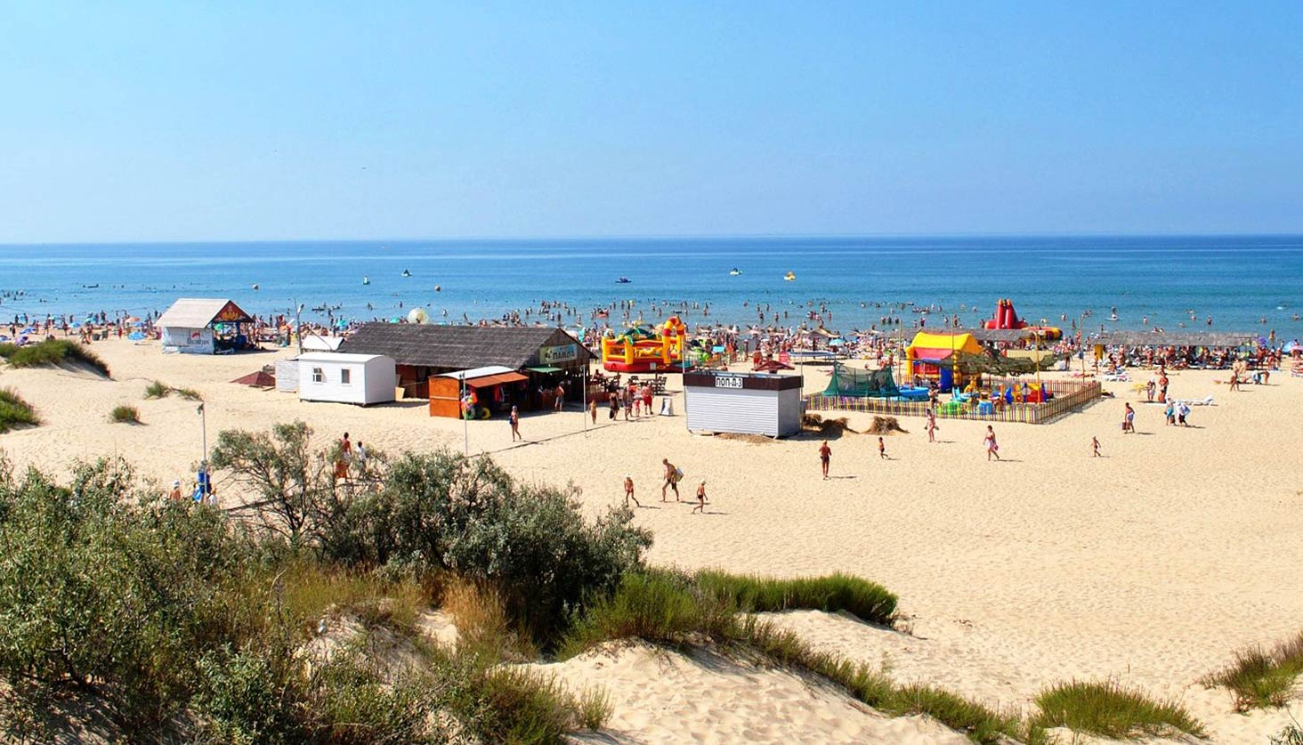 Пляжи на Пионерском проспекте