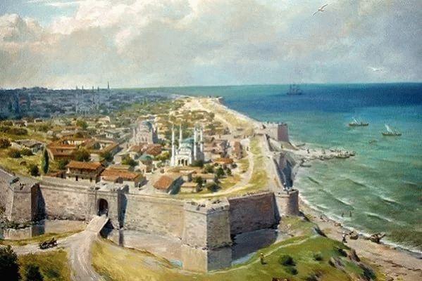 Турецкая крепость Анапа