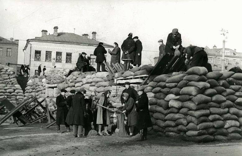 Город Анапа после оккупации