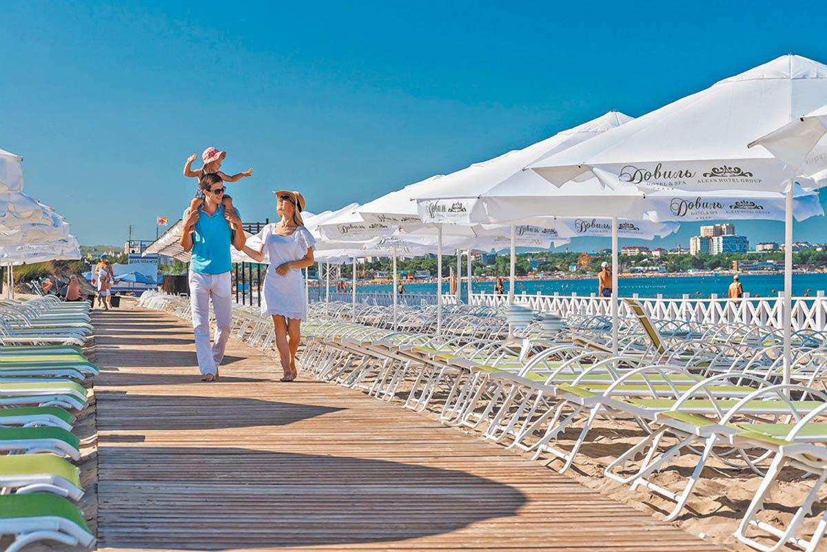Курорт на Черном море