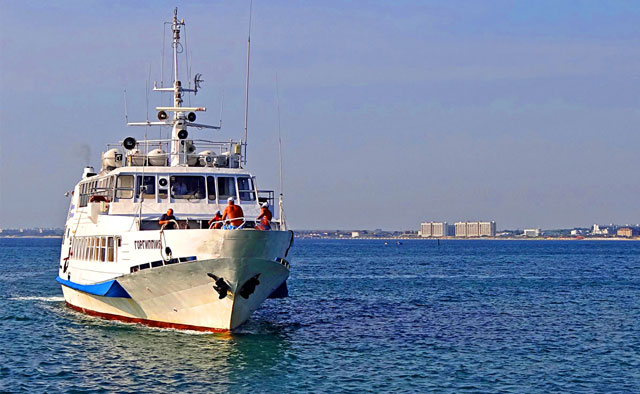 Морские прогулки из Джемете