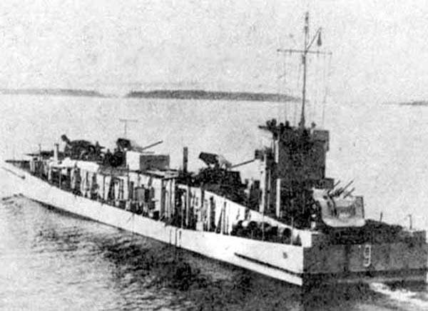 Затонувшая десантная баржа - БДБ