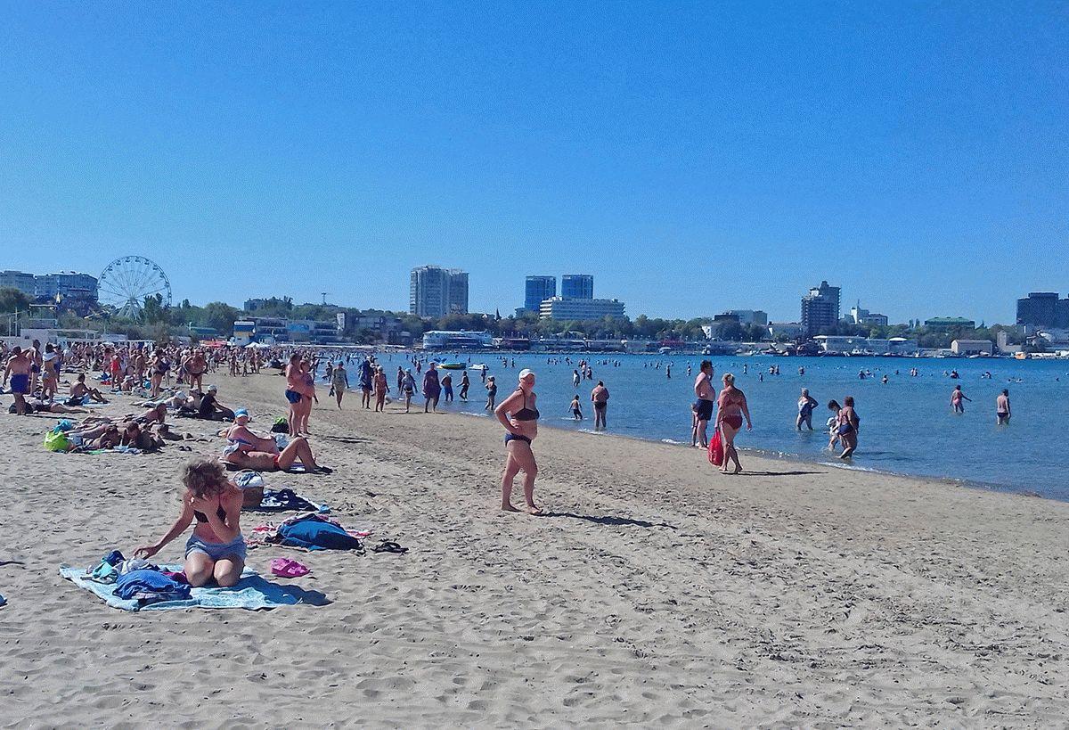 Пляжи Анапы в Бархатный сезон