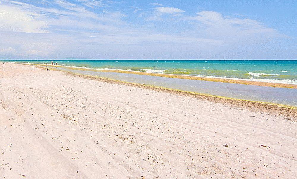 Пляжи Бугазской косы