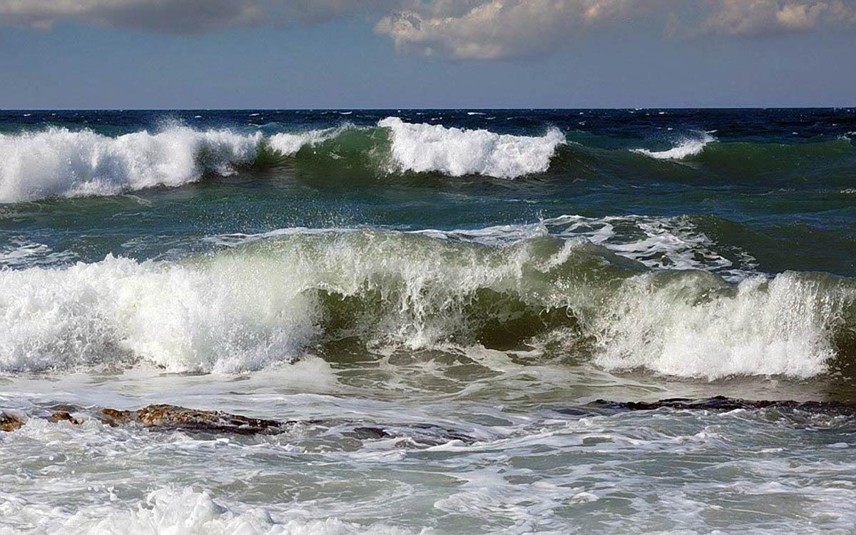 Цвет воды в Черном море