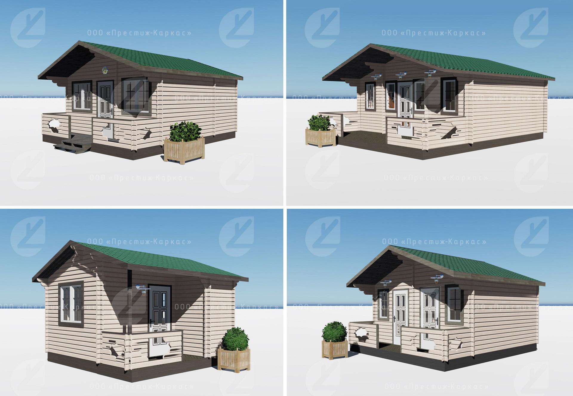 Уютные дачные домики из минибруса в Анапе