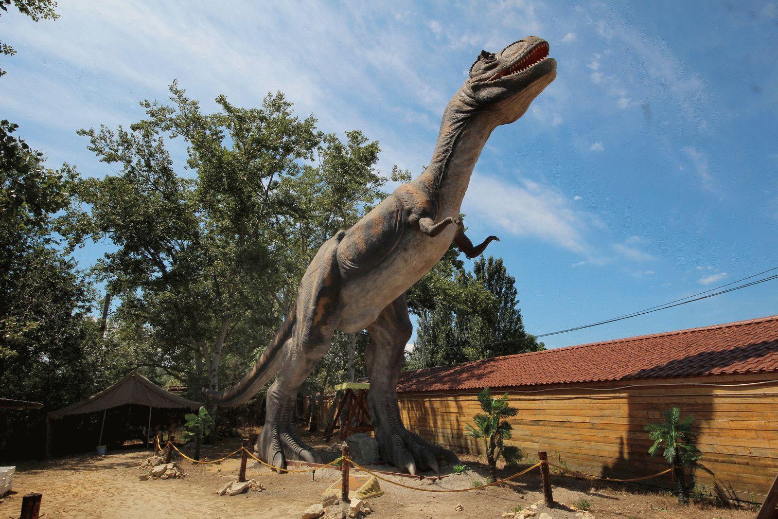 Парк динозавров в Городе Анапа