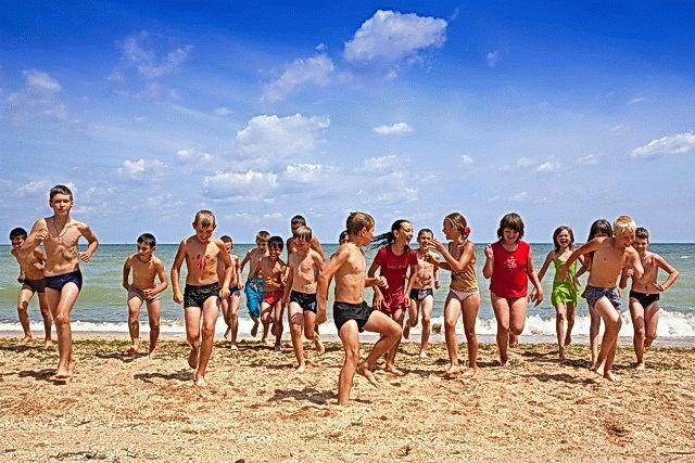 Детские лагеря на Азовском море