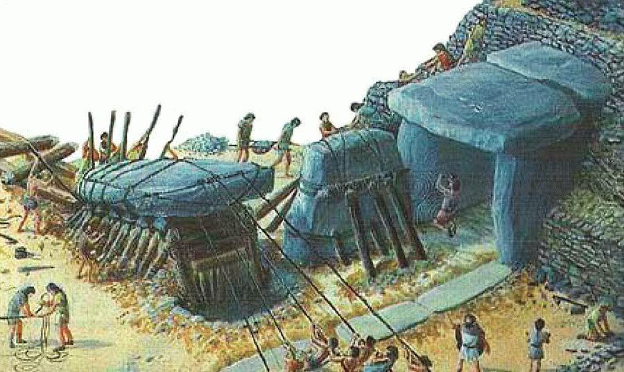 Строительство дольменов