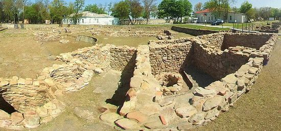 Раскопки древней Анапы