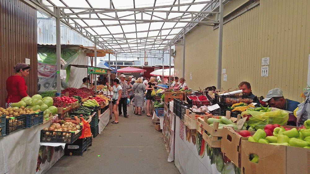 Территория Фермерского рынка