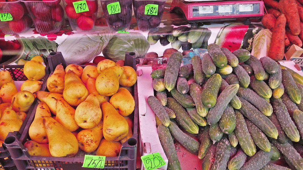 Недорогие овощи