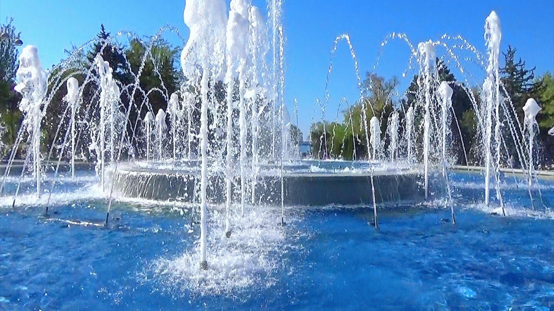Видео фонтанов в Анапе