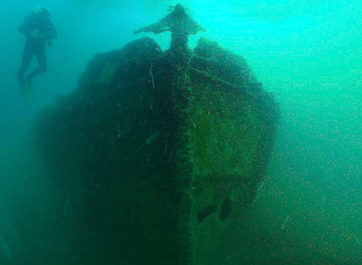 Фото затонувших кораблей