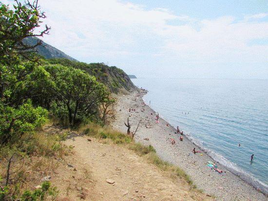 Пляжи Утриша