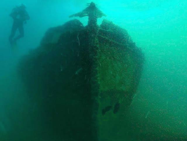 Затонувший корабль Гордипия в Сукко (Анапа)